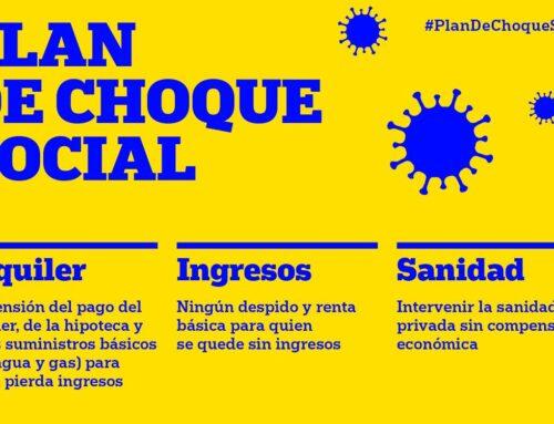 Comunicado #PlanChoqueSocial